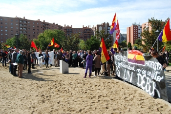 Móstoles: emotivo homenaje a las Brigadas Internacionales [fotos y vídeo]