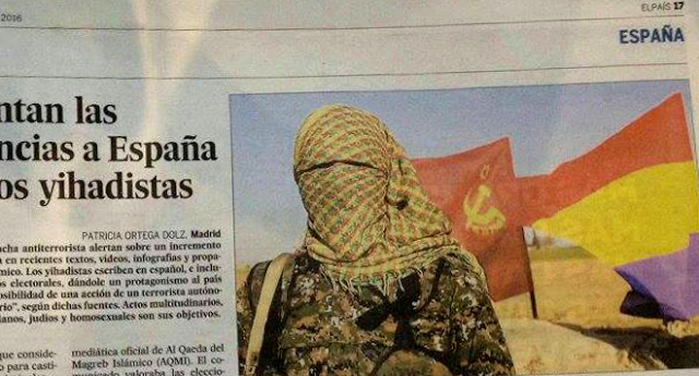El diario 'El País' mancilla la bandera republicana