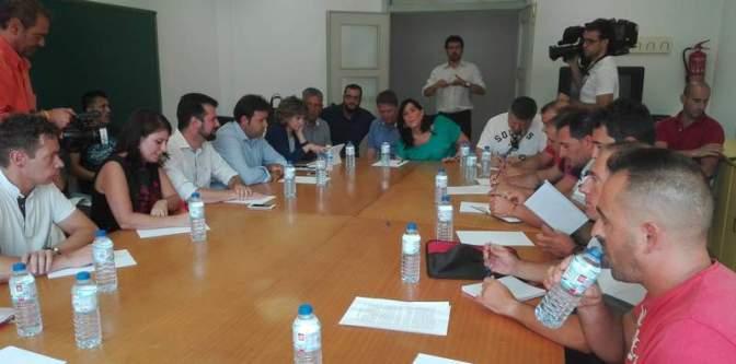 VILLABLINO: el PSOE se reúne con el comité de empresa de Astur-Leonesa