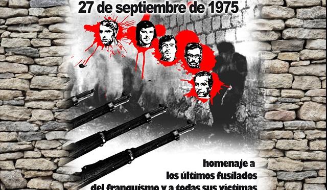 Homenaje a los últimos fusilados del franquismo: vídeo del acto de Madrid
