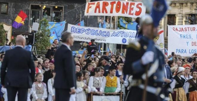 Lo que los medios no enseñaron de los premios Princesa de Asturias [fotos]