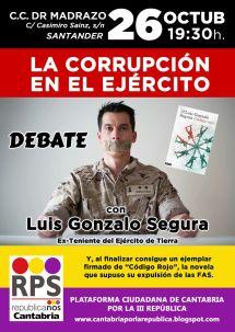 Resultado de imagen de Luis Gonzalo Segura, exteniente del Ejército de Tierra,
