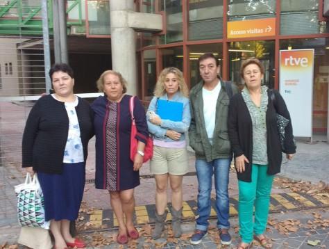 Despedidos TVE de la limpieza solicitando su readmisión el año pasado