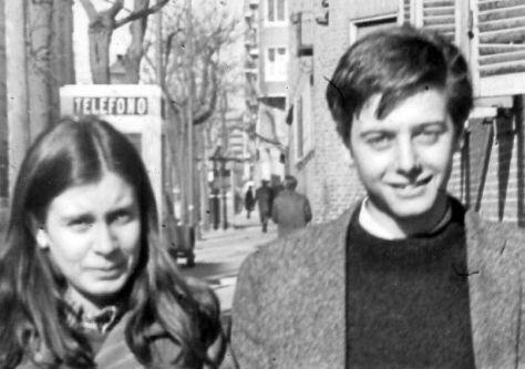 Enrique Ruano en 1969 meses antes de ser asesinado por la Brigada Politico Social.
