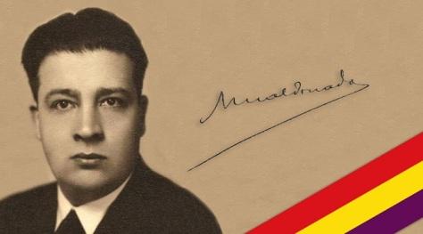 José Maldonado. Fue el fue el último presidente de la Segunda República en el exilio.