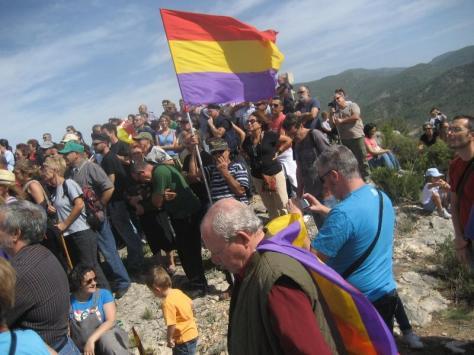 El Ateneo Republicano de  Paterna en un homenaje a la  guerrilla antifranquista en 2012