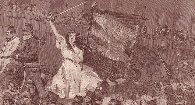El 11 de febrero de 1873, las Cortes proclaman la República