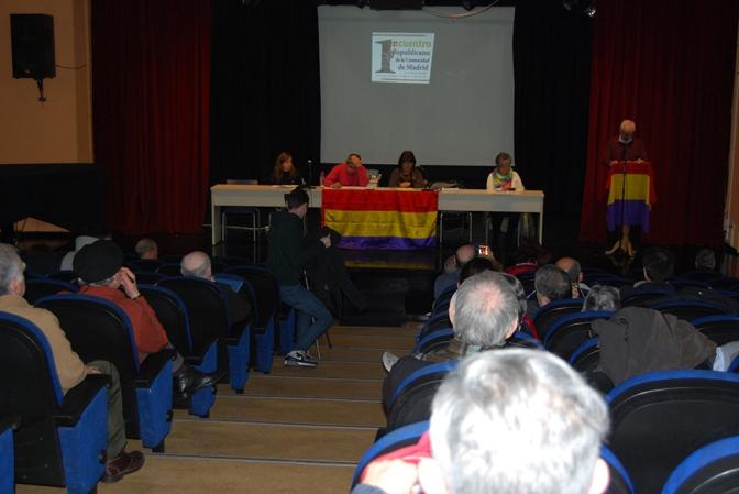 I Encuentro Republicano de la Comunidad de Madrid (vídeo de intervenciones)