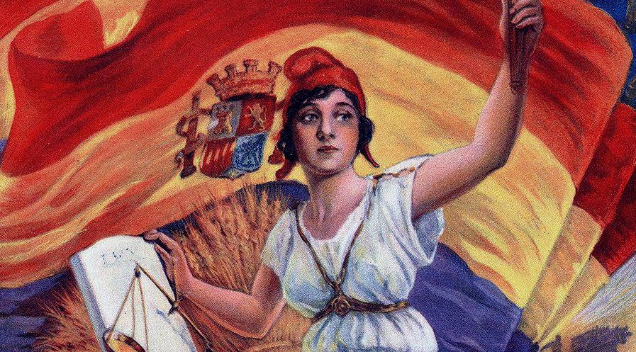 """la """"niña bonita"""" de la República símbolo de la libertad, igualdad, fraternidad, laicismo y justicia"""