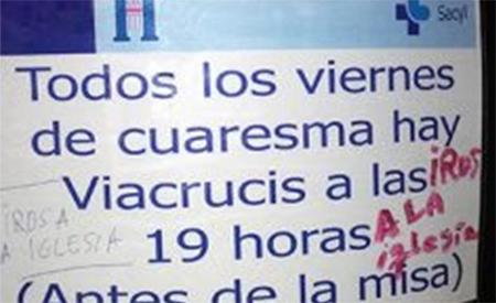 Reclaman que se dejen de celebrar vía crucis en el Hospital General de Segovia