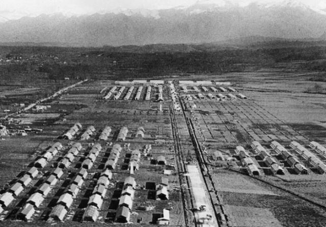 Campo de GURS, en funcionamiento. FOTO autoría ajena