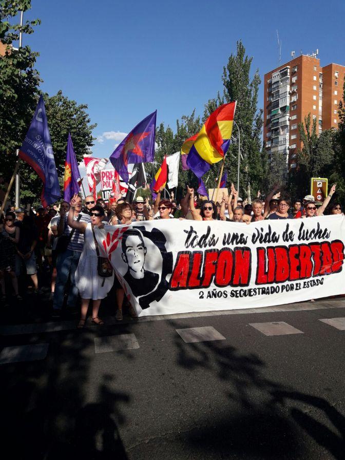 ¡Alfon, libertad!: Así fue la Jornada de lucha para exigir su libertad