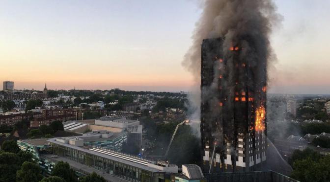 La Federación Republicanos(RPS) sobre el incendio ocurrido en Londres en edificio Grenfel Tower