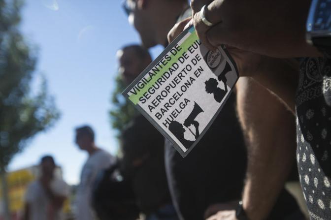Carta abierta de un vigilante del Prat que está circulando en las redes