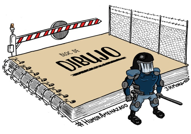 Manifiesto #HumorAmenazado firmado por más de 100 humoristas gráficos y simpatizantes