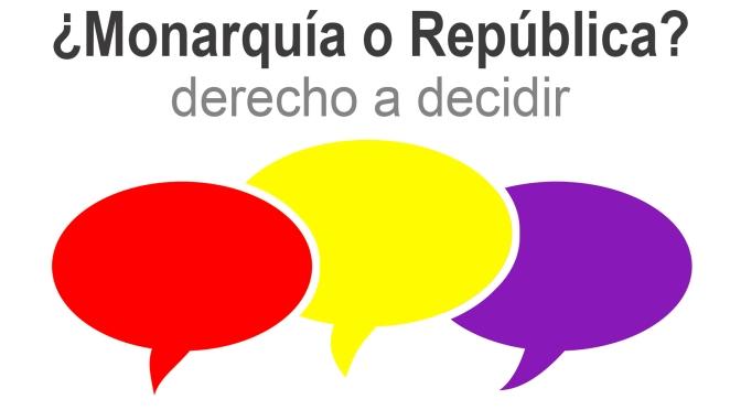 Segovia: Se da inicio a la campaña sobre la consulta:  ¿monarquía o república?