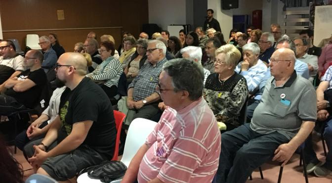 Barcelona: acto unitario contra la represión del estado español