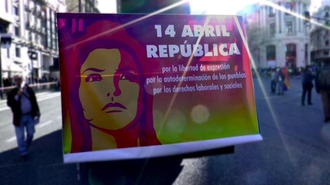 Así fué la manifestación por la III República en Madrid [crónica y video]