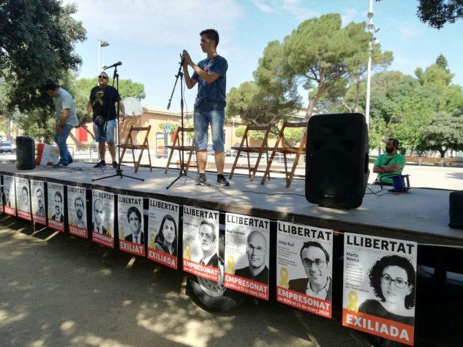 Sta. Perpetúa de Mogoda: Acto Unitario contra la represión y por la libertad de los presos políticos