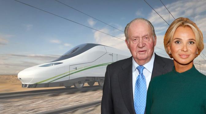 """Corinna: """"Juan Carlos I pidió una comisión por el AVE a la Meca y recibió dinero saudí"""""""