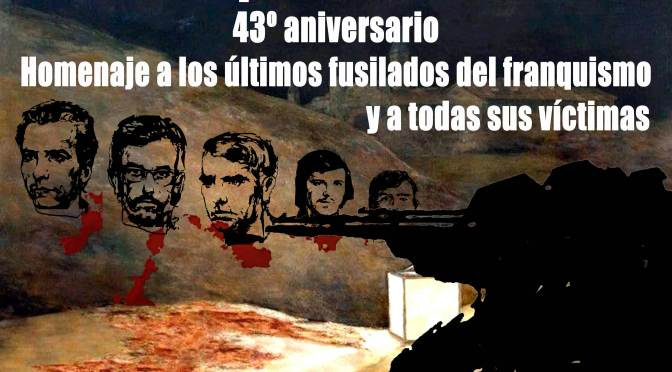 Madrid: homenaje a los últimos fusilados y las víctimas del franquismo