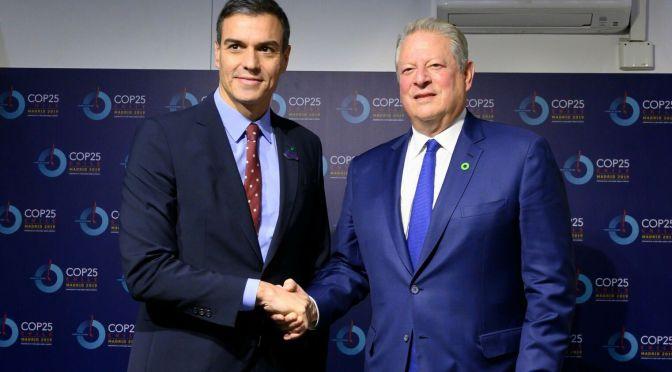 Al Gore, el criminal de ocho guerras mercader del ecologismo, por Nazanín Armanian