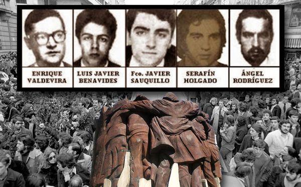 Matanza de Atocha: el fascismo tiene miedo, por Socialismo Mostoleño
