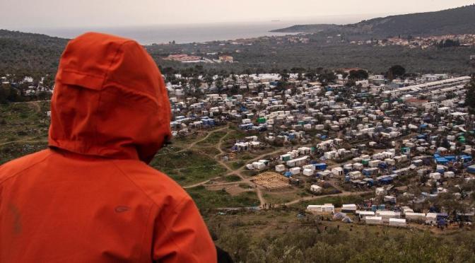 Cuarentena surrealista: un diario directamente desde el campo de refugiados más grande de Europa