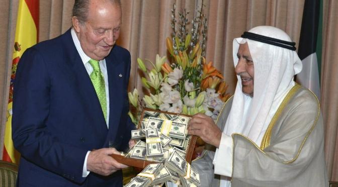 J. Carlos I recibió 100 M del rey Abdulá días después de 'blanquear' el régimen saudí